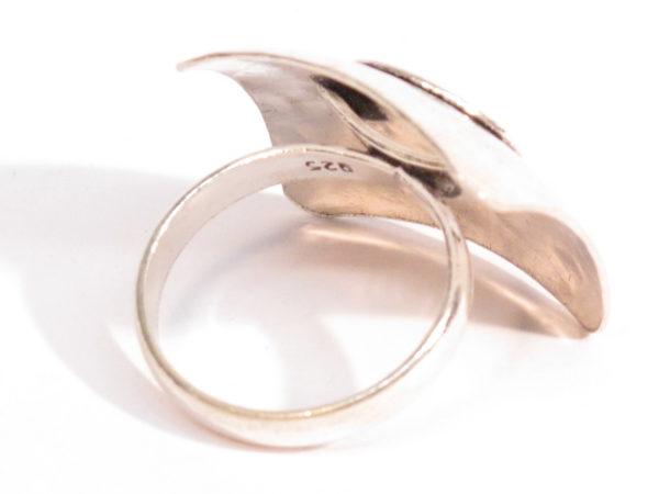 anello Berbero in argento motivo a spirale