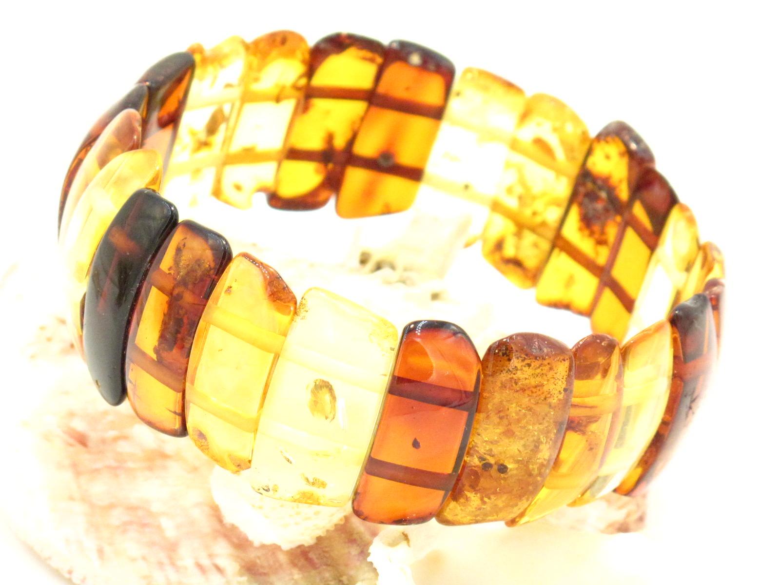 bracciale in ambra