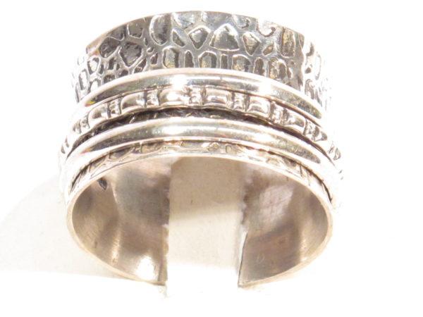 anello etnico in argento