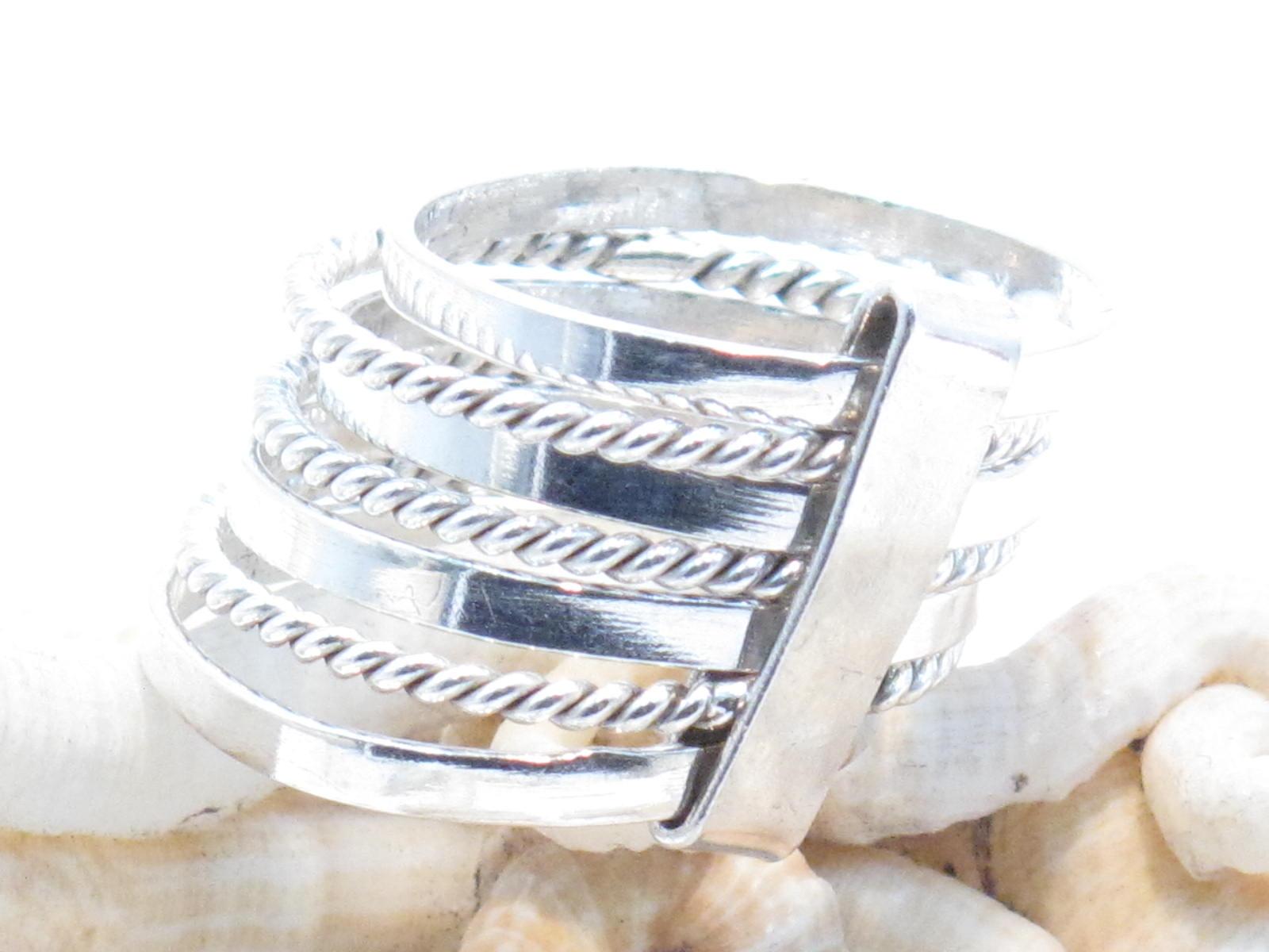 fascia multipla in argento