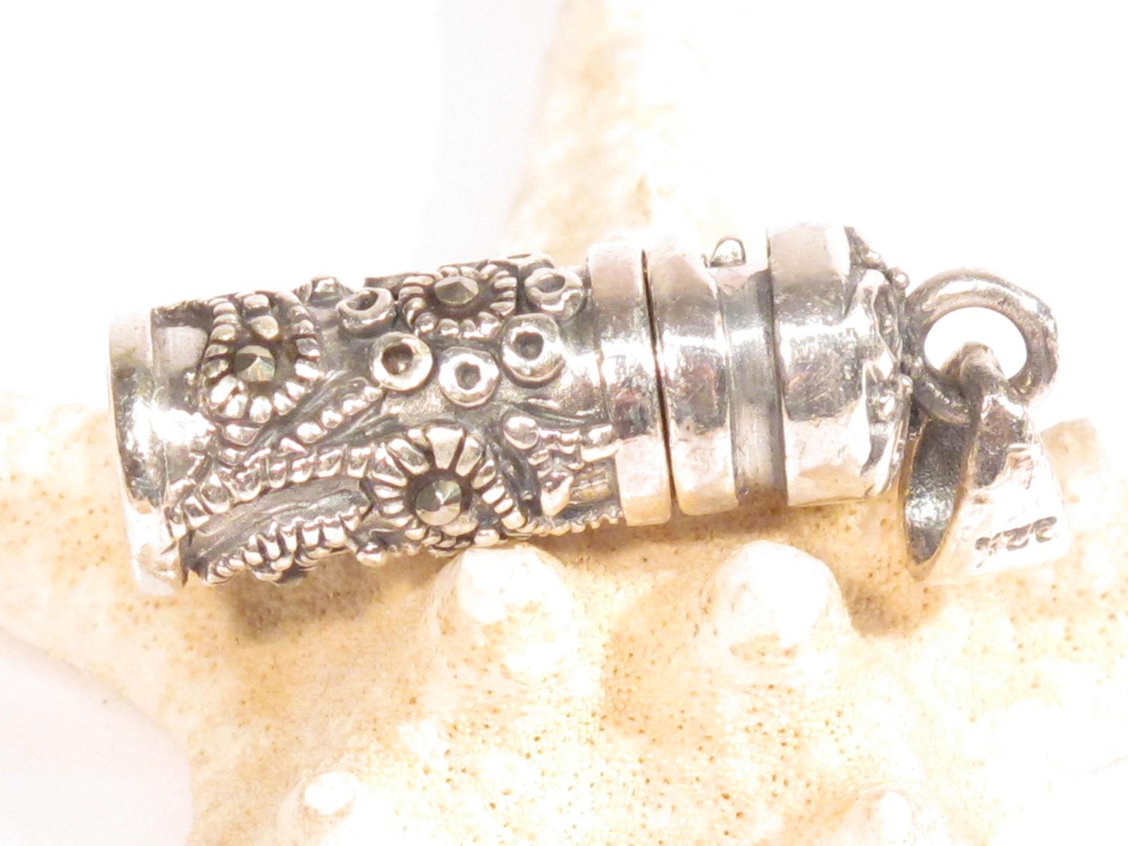 pendente porta corano in argento