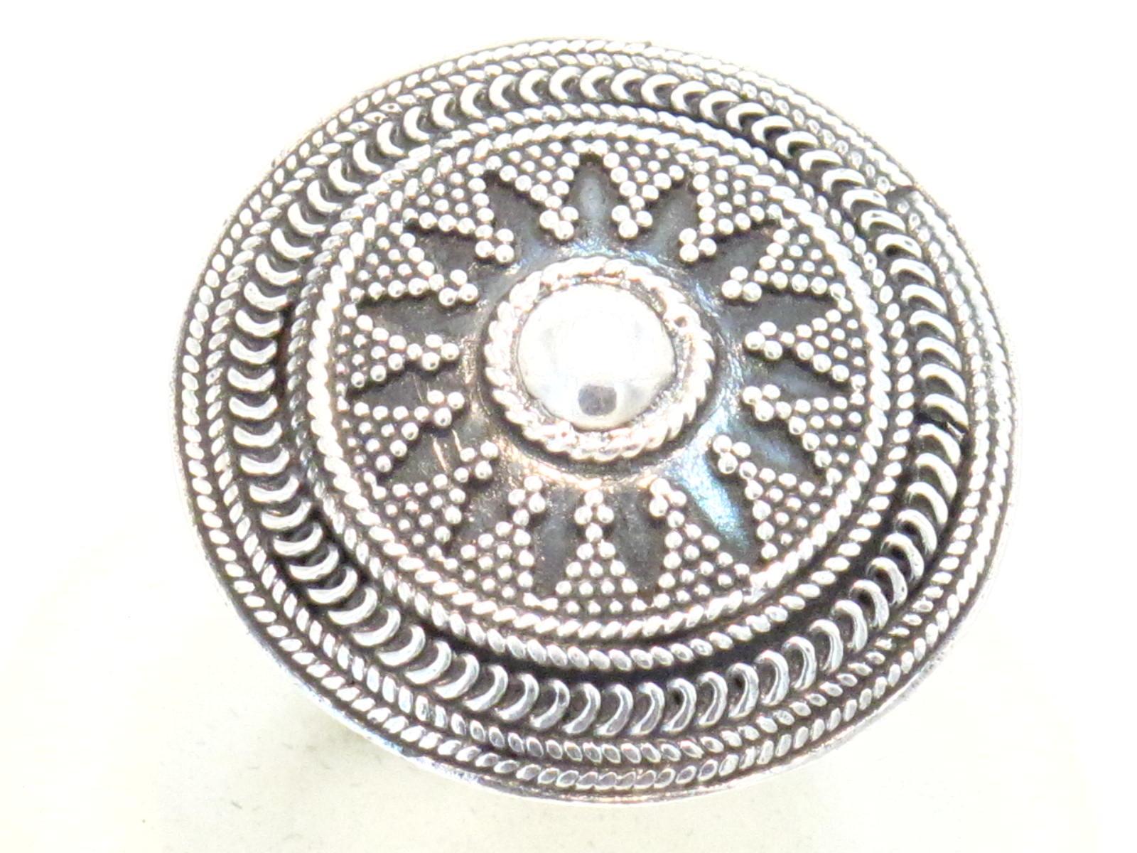 anello argento indiano