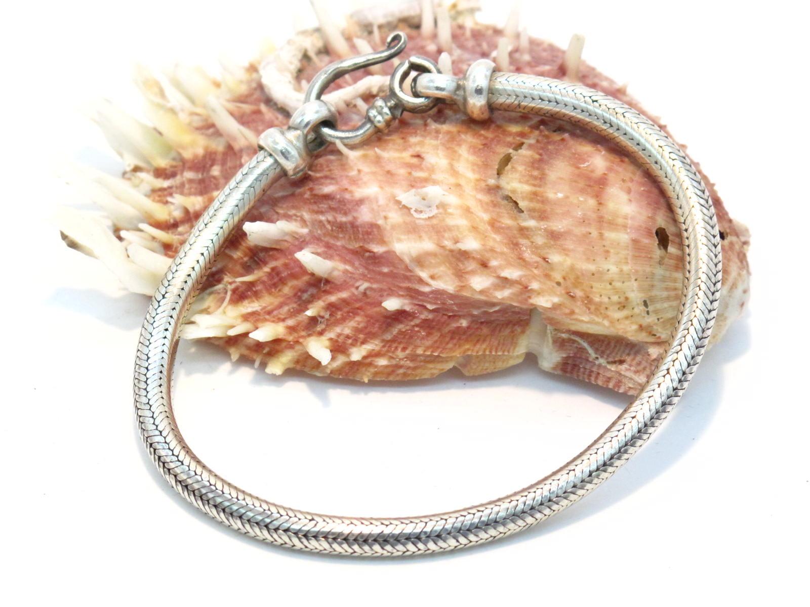 bracciale snake tubolare