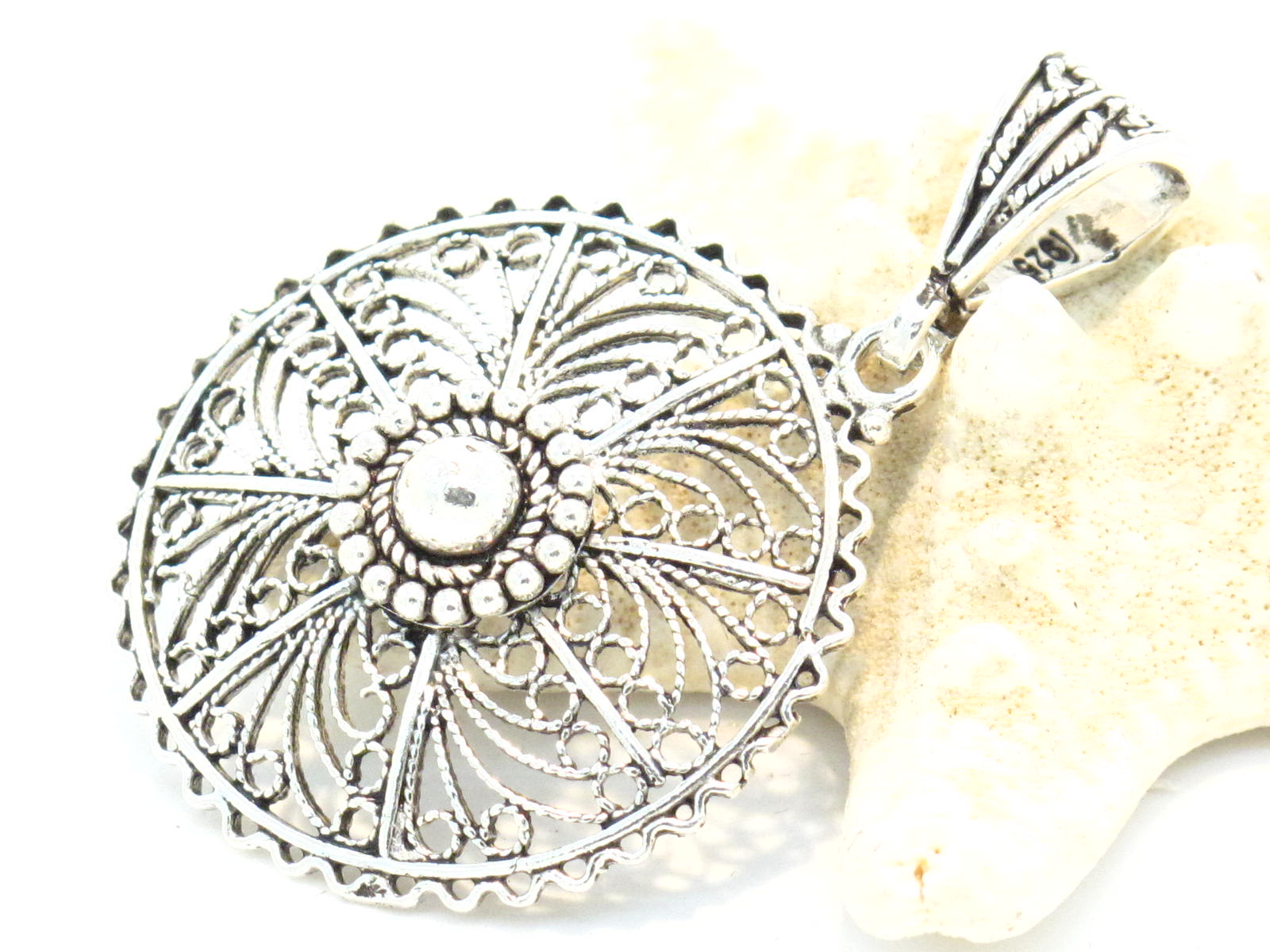 pendente indiano argento