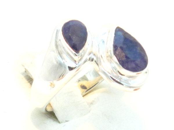 anello argento e lapislazzuli