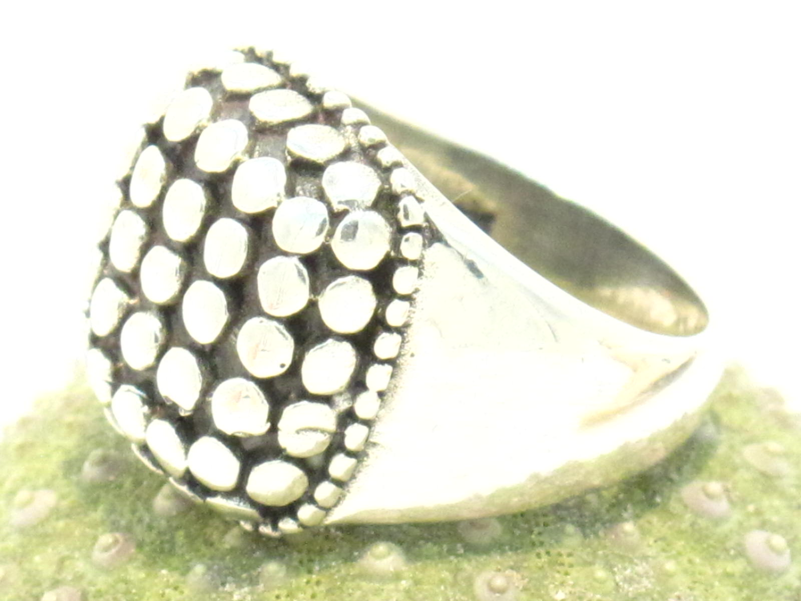 anello indiano in argento