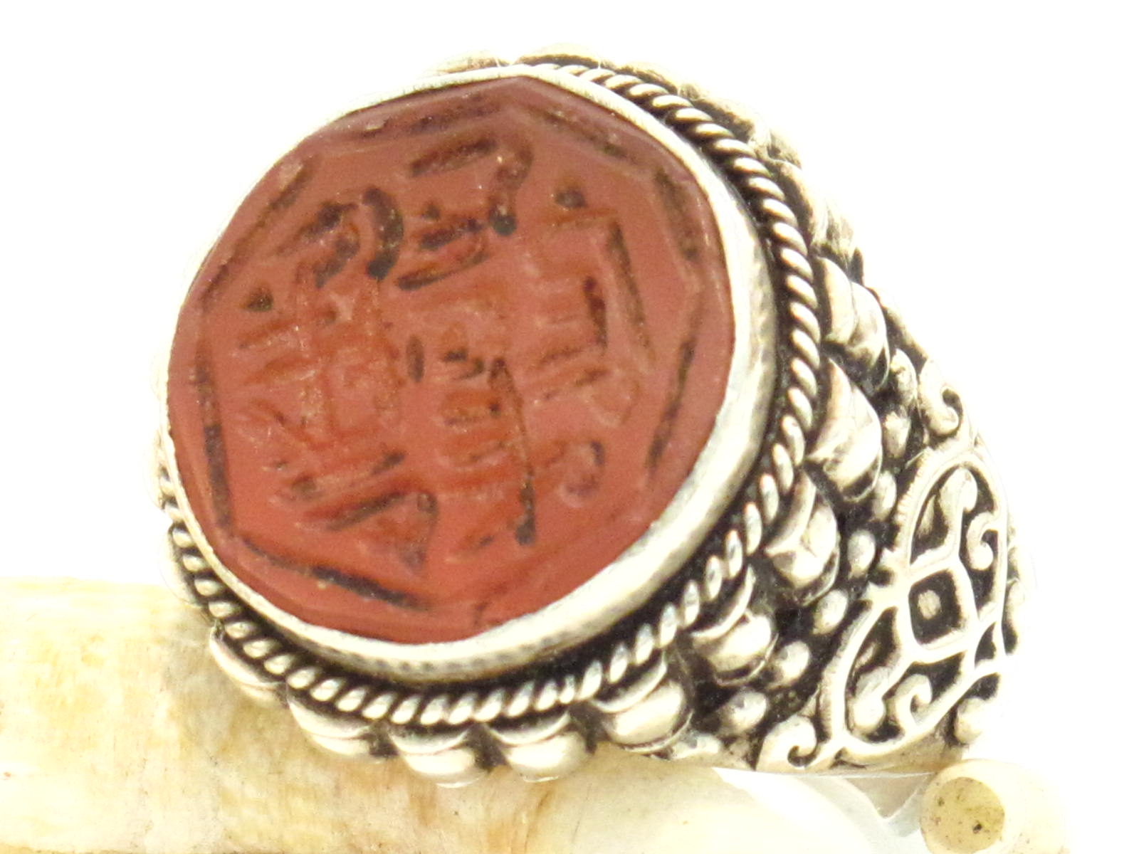 anello etnico corniola iraniana