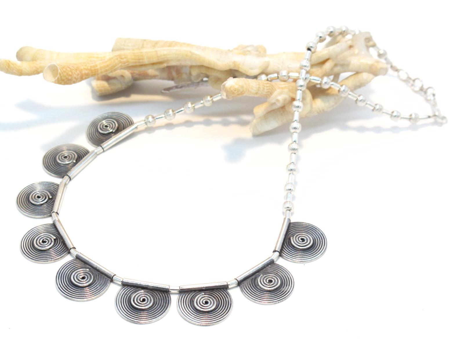 collana argento spirali berbere