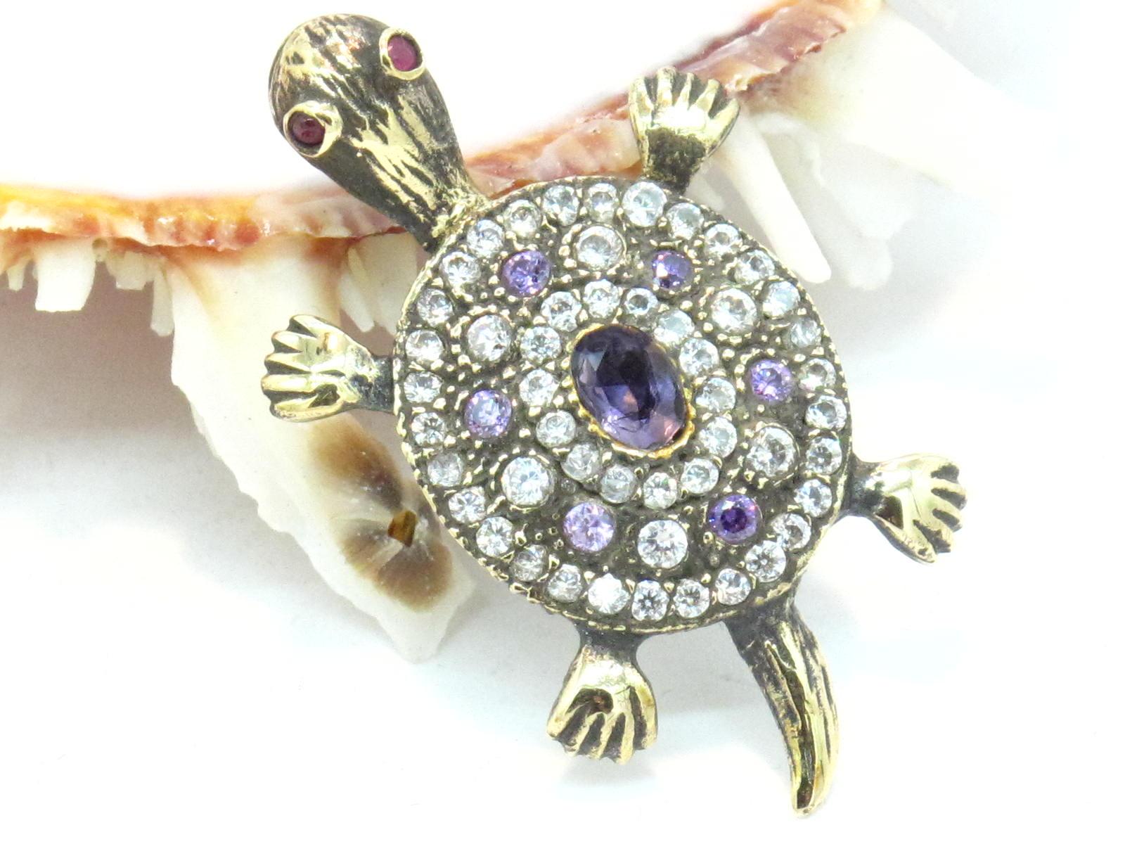 pendente turco tartaruga