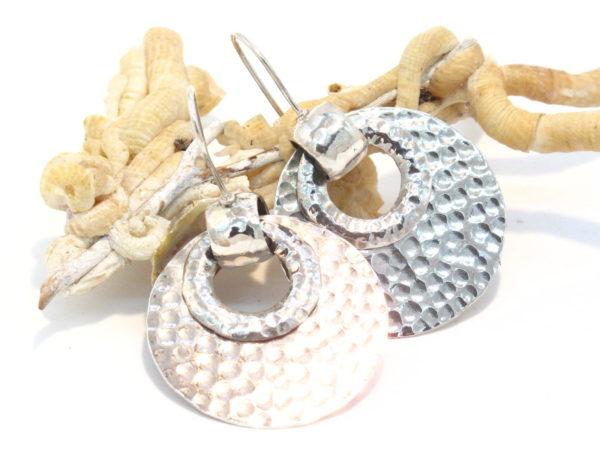 orecchini etnici in argento