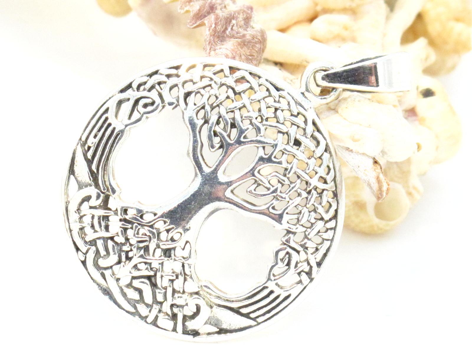 pendente in argento albero della vita