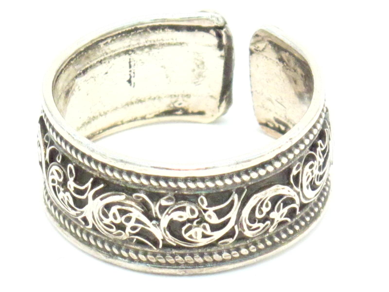fedina filigranata argento